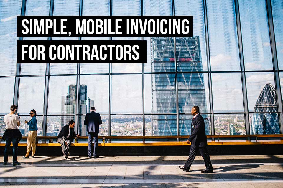 The right invoicing & accounting app for contractors is one that gives you all the tools you need on the go. Debitoor invoicing software gives you a cloud-based solution you can access from anywhere