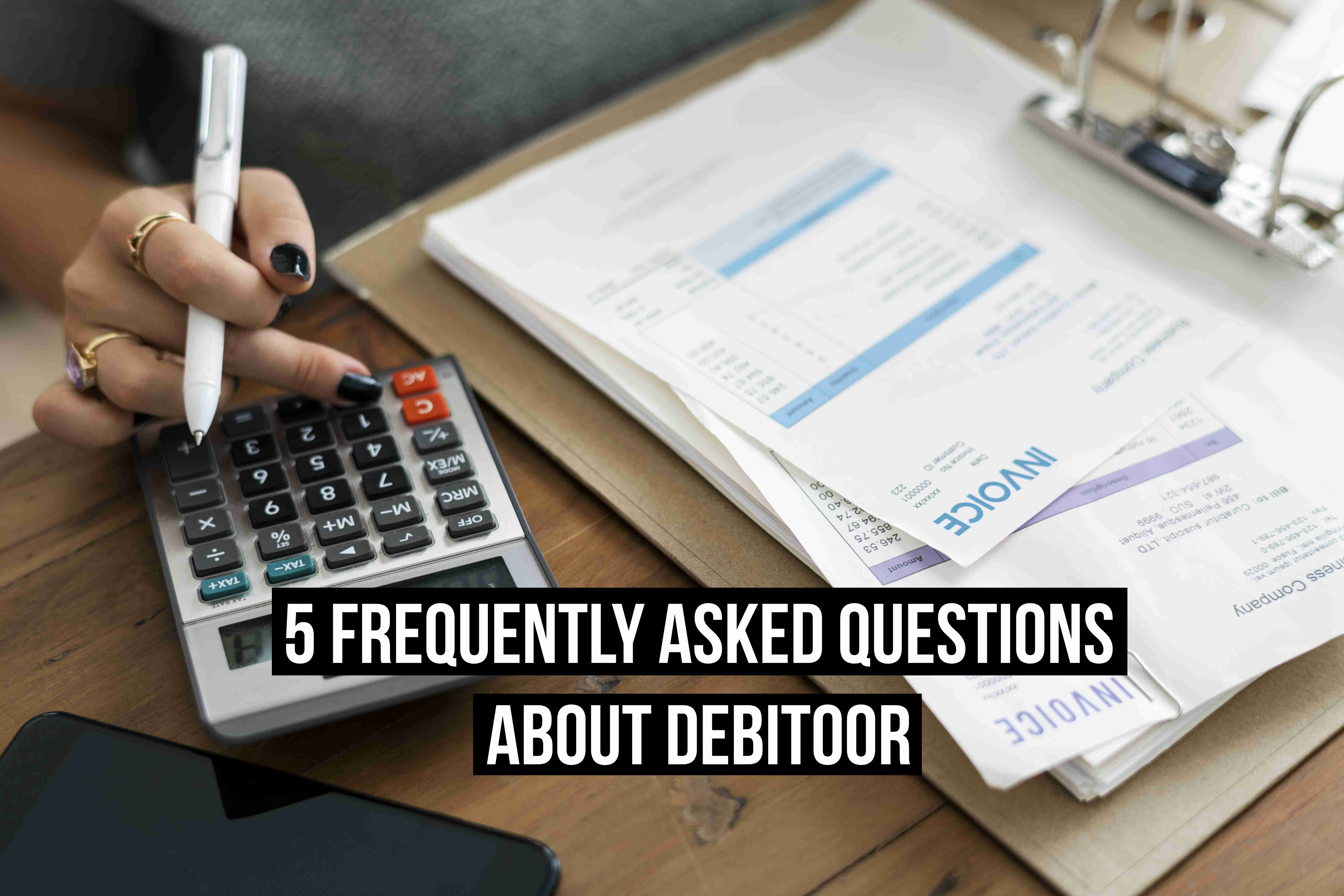 debitoor frequently asked questions title