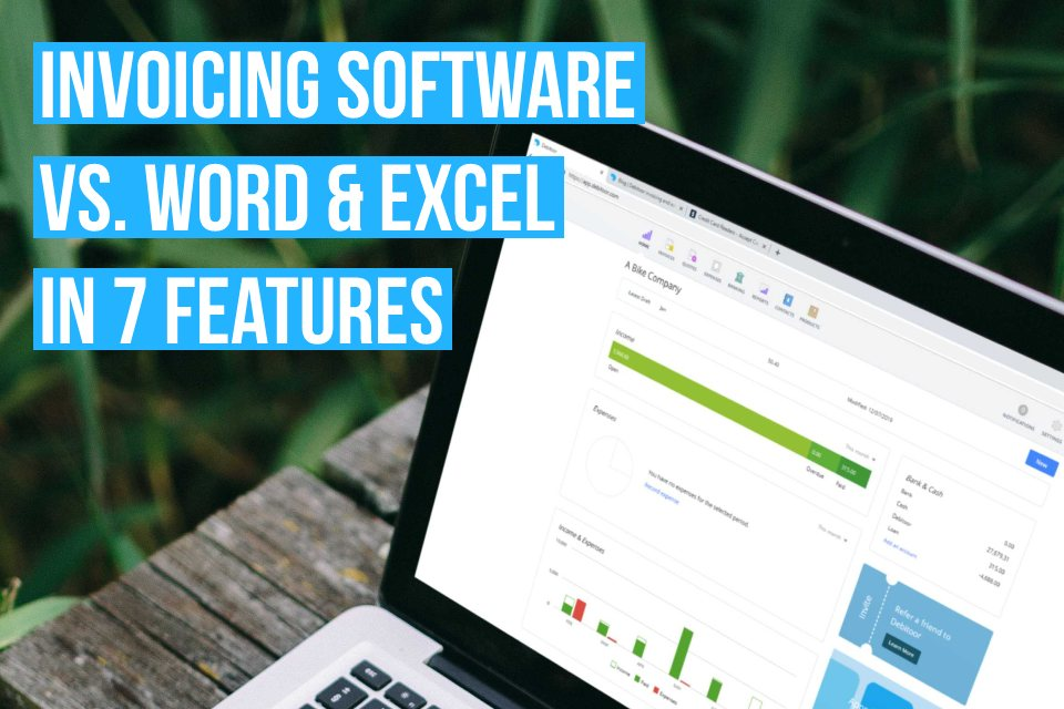 Invoicing software has several important features that you won't find in Word or Excel. Here's 7 of them.