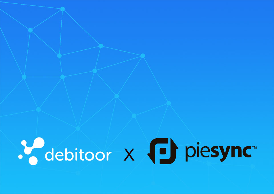 Set PieSync up once in Debitoor invoicing software and never worry again about adding contacts across applications with the 2-way sync