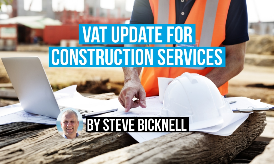 Domestic VAT reverse charge for construction services