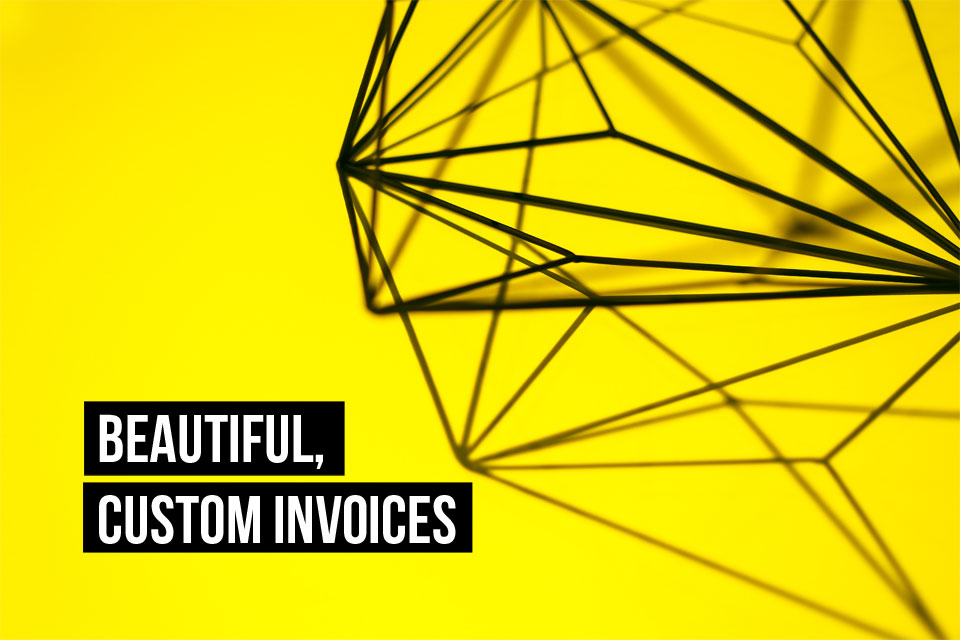 Yes, it's possible to create custom, beautiful invoices fast with Debitoor invoicing software.