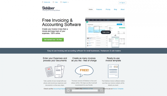 Learn More About Invoicing And Accounting Practises Debitoor - Business invoice software free trendy online clothing stores