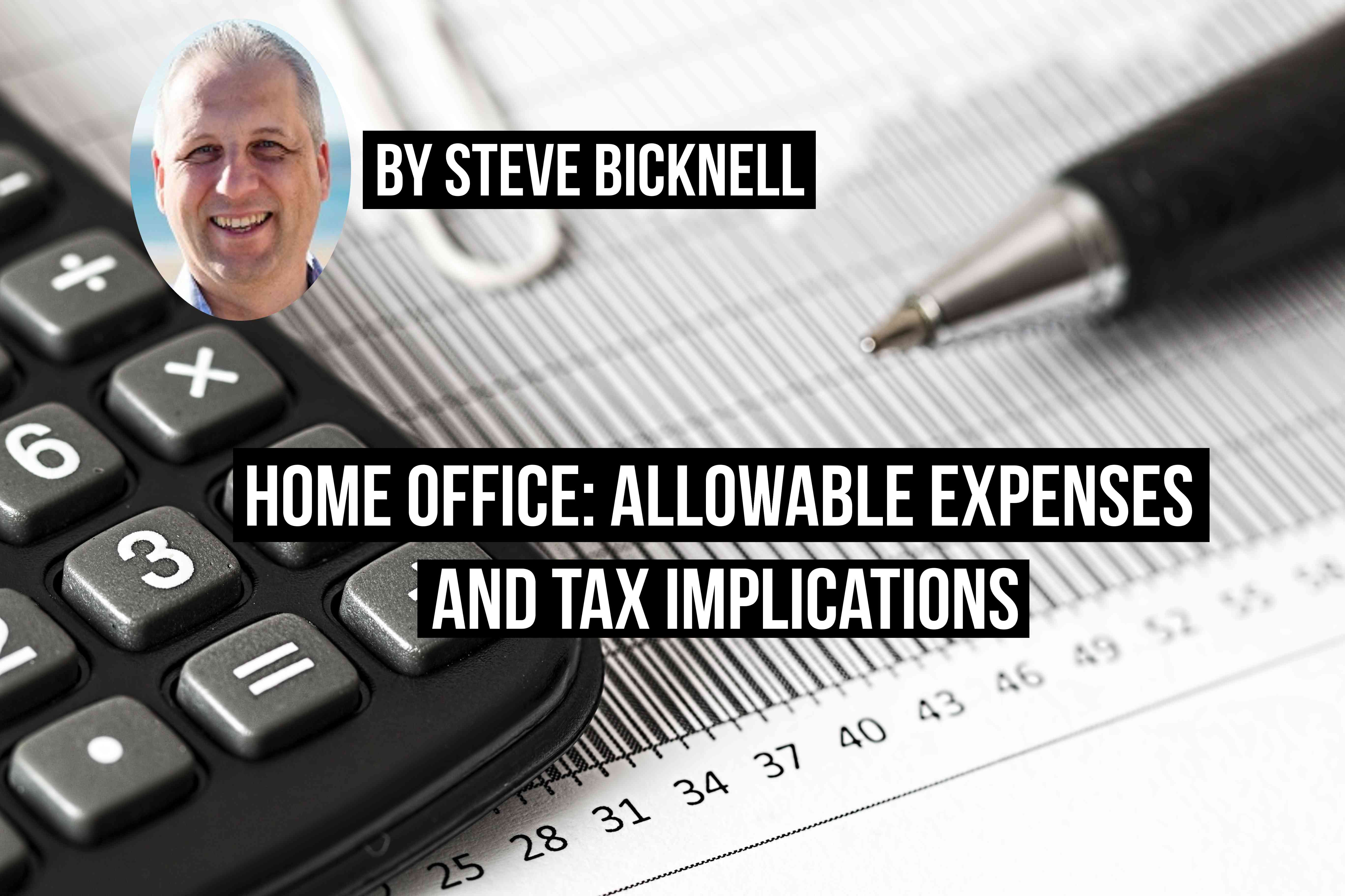expenses and tax implications title