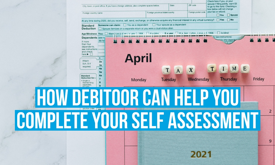 How Debitoor can help you complete your Self Assessment