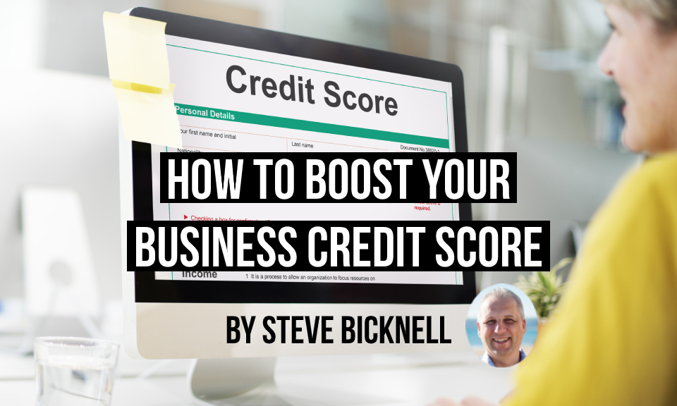 How to boost your business credit score title image