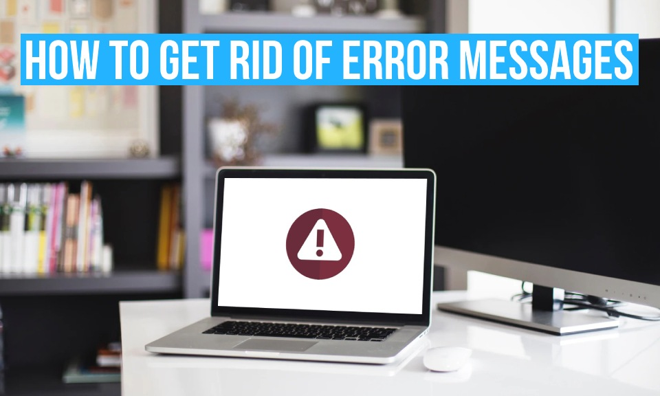 Find out how to get rid of common error messages in Debitoor invoicing software