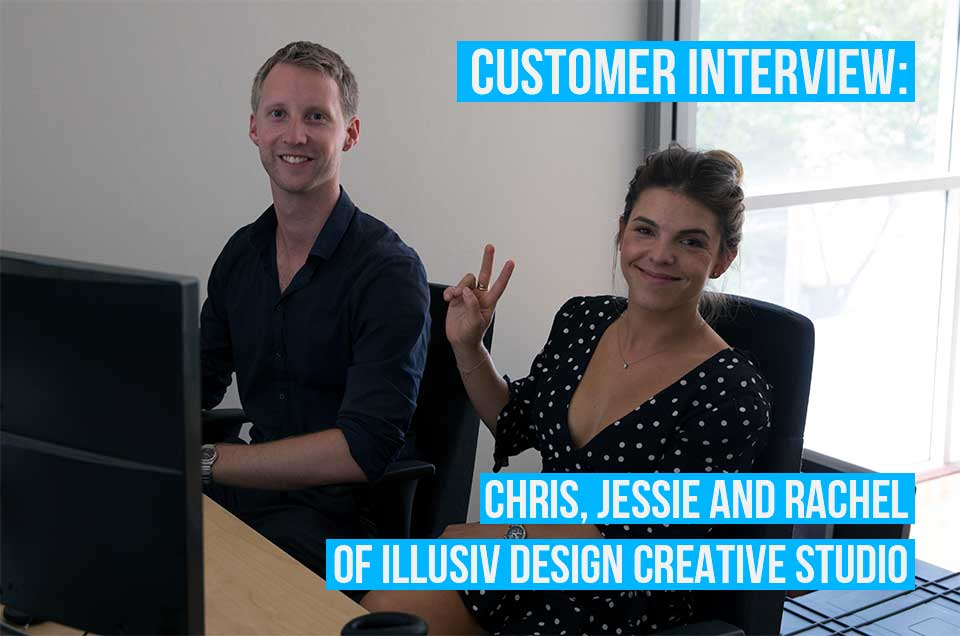 Chris, Jessie, and Rachel tell us about their work with illusiv Design and using Debitoor
