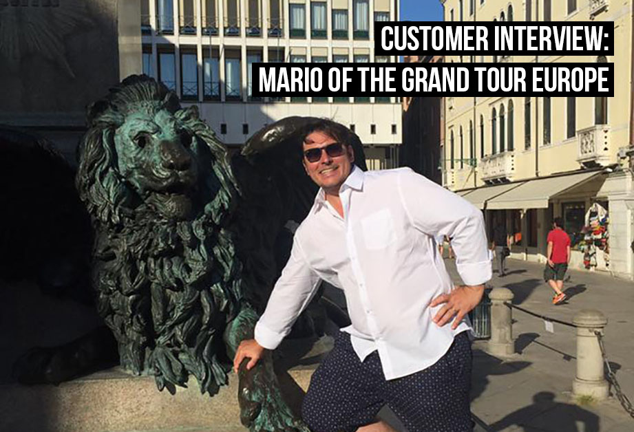 Debitoor user Mario runs a small business specialling in tour guides across Italy and Europe