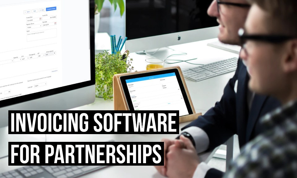 Invoicing software for business partnerships