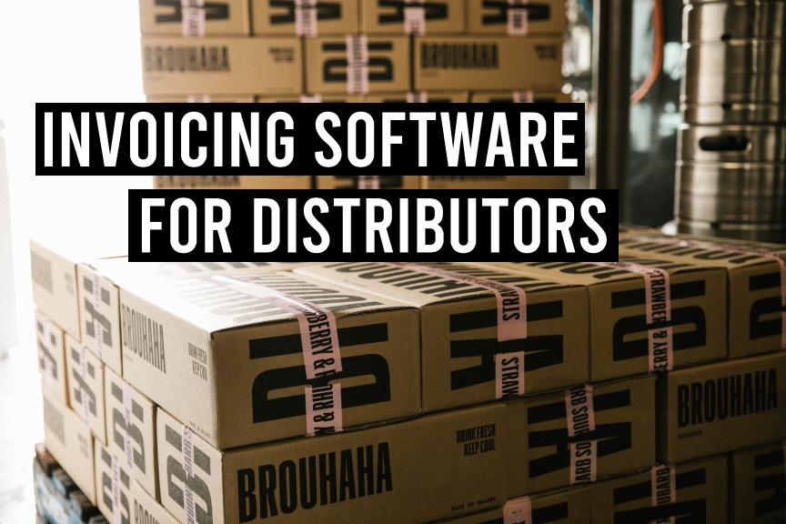 Invoicing software for distributors