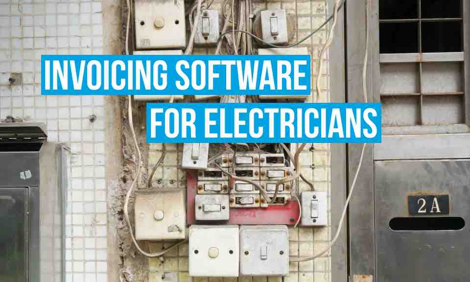 Debitoor invoicing software makes it easy for electricians to invoice their customers