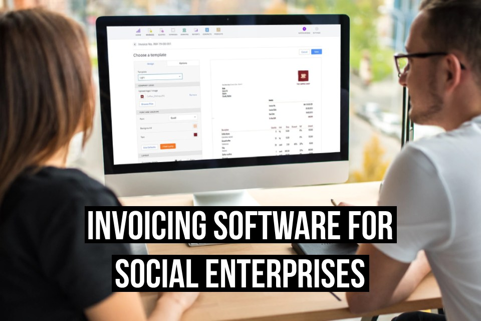 Debitoor invoicing software makes it easy to send invoices, whether you run a social enterprise or a regular commercial business. Try it free for 7 days
