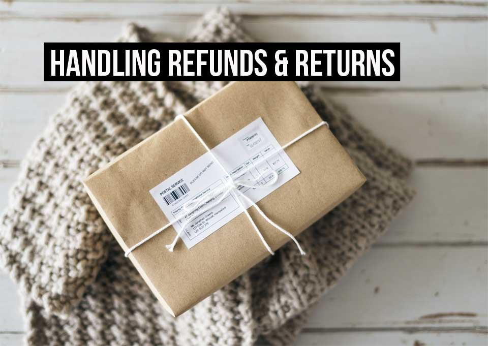Dealing with refunds for returns like in this parcel are never fun, but can be easy with the right invoicing & accounting software