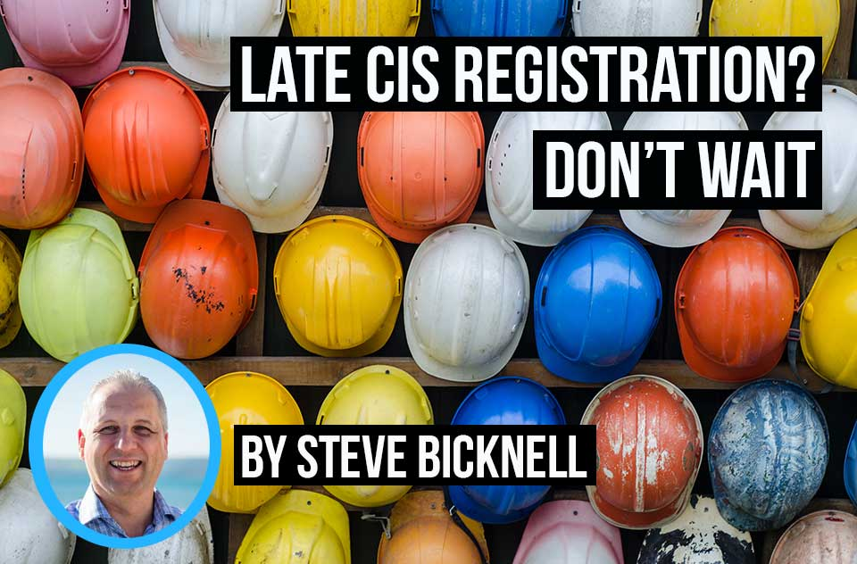 Don't wait til it's too late, register for CIS and keep track of your CIS deductions with invoicing software like Debitoor