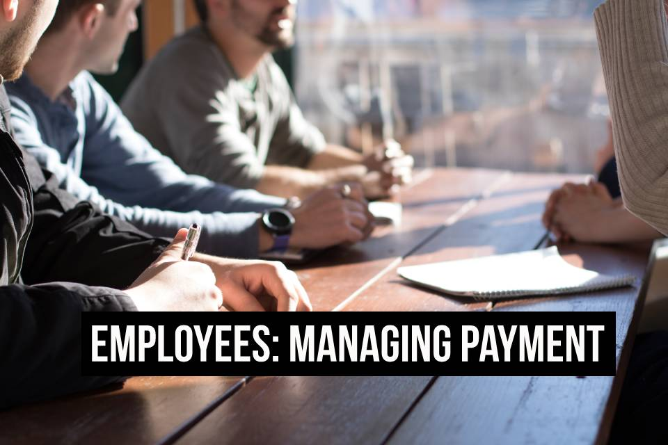 Managing employee pay as a small business owner