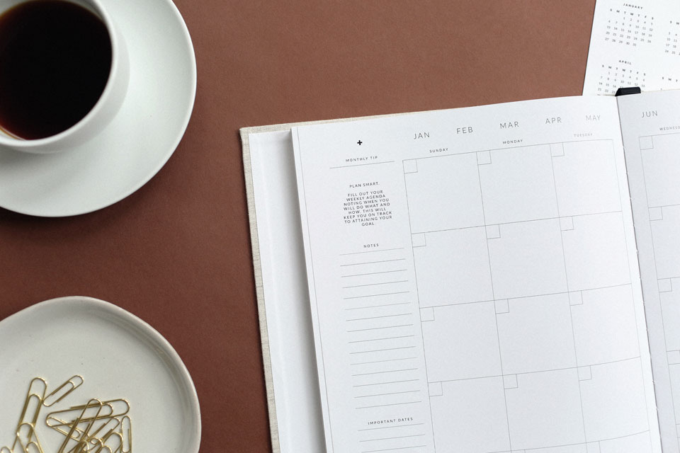 You can change the dates in your calendar for filing. Here's how.