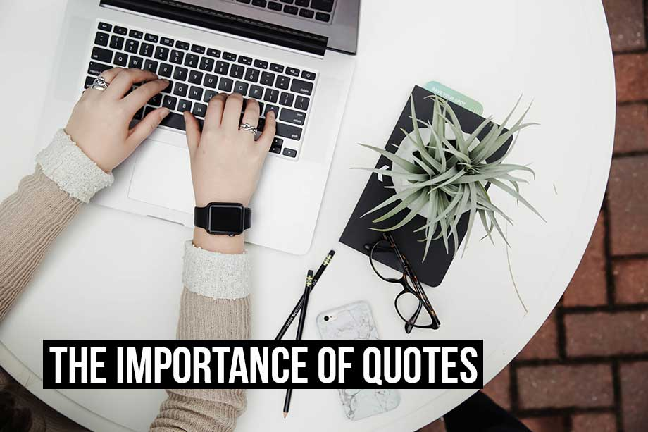 Creating quotes is just as fast and simple as invoices with Debitoor invoicing software