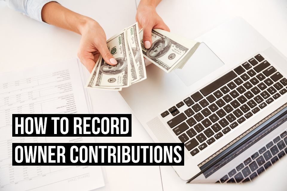Easily record owner contributions with Debitoor invoicing software for freelancers and small businesses