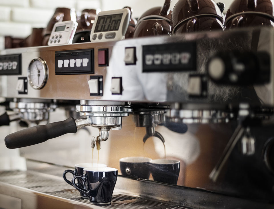 If you're craving coffee from a fancy machine like this one, you can still manage your invoices with invoicing software like Debitoor.