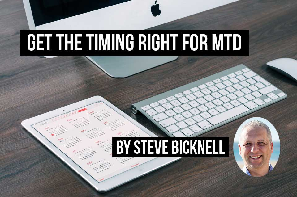 Get the timing right for MTD sign up. This calendar and computer are all you need.