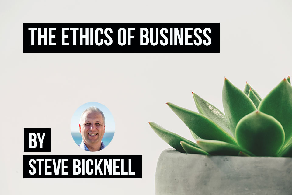 Ethical behaviour in business is more than just doing the right thing. It can actually increase sales.