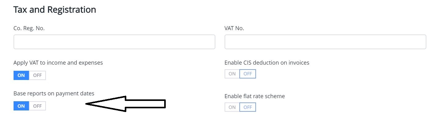 How to change to accrual accounting with Debitoor