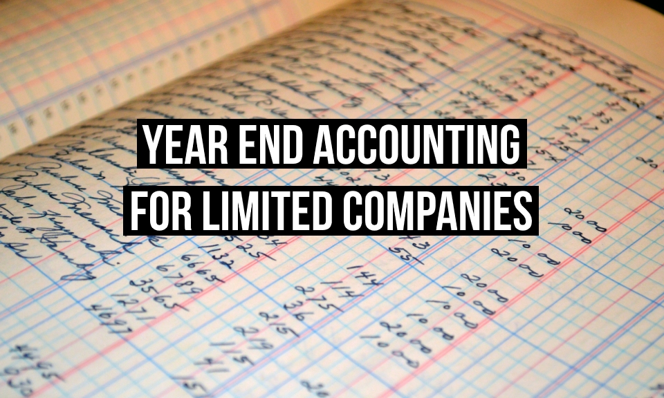 Year end accounting for limited companies title image
