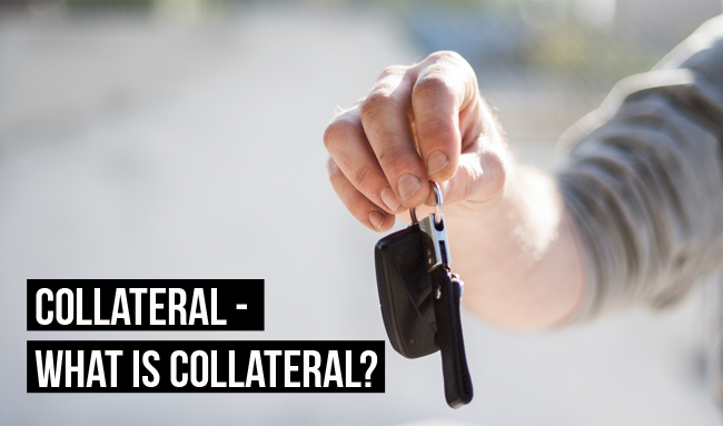Collateral can take many forms, such as a car, to grant a secured loan
