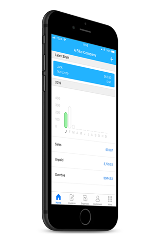 Easy mobile invoicing with the Debitoor iOS app