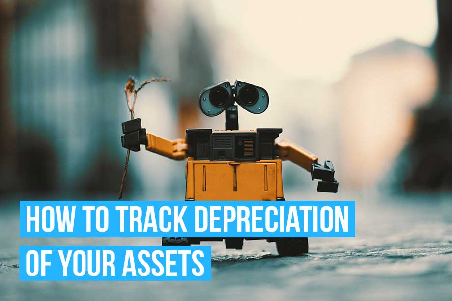 Asset depreciation can impact your business accounting. Keep track with Debitoor accounting & invoicing software