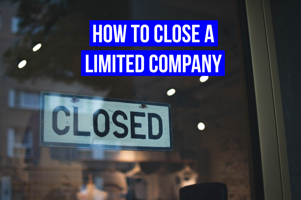 How to close a limited company title image