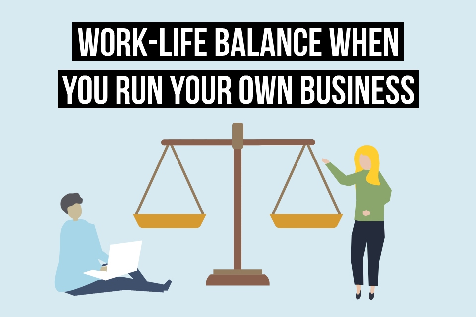 Find out more about achieving a healthy work-life balance as a freelancer or small business owner