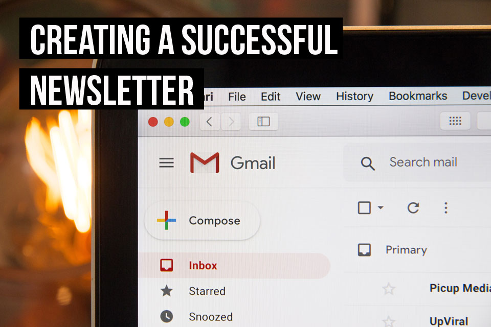 While there's no secret strategy, there are some useful tips for setting up a newsletter